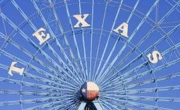 Η ρόδα Ferris αστεριών του Τέξας, Ντάλλας Τέξας Στοκ φωτογραφία με δικαίωμα ελεύθερης χρήσης