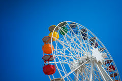 Ferris azuis Barca Fotos de Stock
