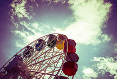 Ferris Barca da sombra retro Fotografia de Stock Royalty Free