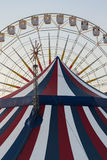 Ferris and Circus Tent Stock Photos