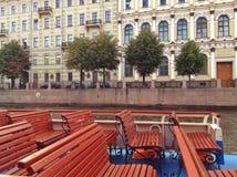 Ferris di San Pietroburgo Fotografia Stock Libera da Diritti