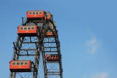 Ferris géant roulent dedans Vienne Photographie stock libre de droits