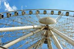 Ferris gigantyczny Koło Fotografia Stock