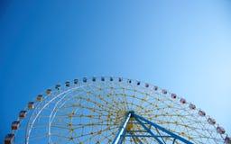Ferris koła horyzontalny widok zdjęcie royalty free