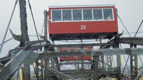 Ferris koła poruszający up zdjęcie wideo