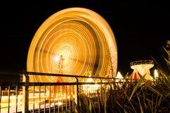 Ferris koła przejażdżka w ruchu Zdjęcia Stock