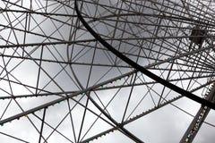 Ferris koła struktura Obraz Stock