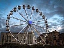 Ferris koło światło fotografia stock