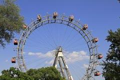 Ferris koło - plociuch, Wiedeń Obraz Stock