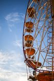 Ferris koło przeciw niebu obraz royalty free