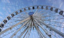 Ferris koło przy Albert nabrzeżem w Kapsztad i Wiktoria Zdjęcie Stock