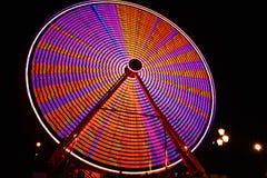 Ferris koło Przy nocą Zdjęcie Royalty Free