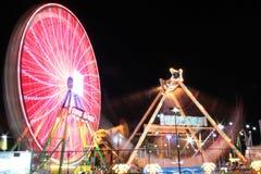 Ferris koło Przy nocą Obraz Stock