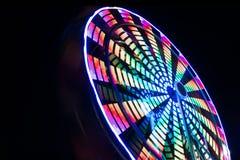 Ferris koło Przy nocą Obraz Royalty Free