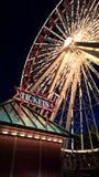 Ferris koło Przy nocą Zdjęcie Stock