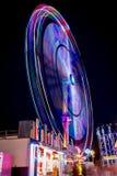 Ferris koło Przy nocą Fotografia Stock