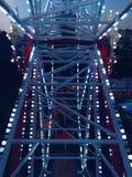 Ferris koło Przy nocą Fotografia Royalty Free