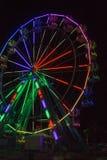 Ferris koło Przy nocą Zdjęcia Stock