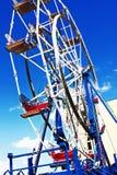 Ferris koło przy plażą Zdjęcia Stock