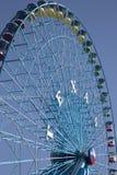 Ferris koło przy stanu jarmarkiem Teksas Dalls obrazy royalty free