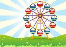Ferris koło przy szczytem Obraz Stock