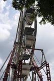 Ferris koło Przy wschodem słońca zdjęcia royalty free