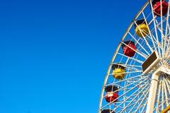 Ferris koło z reklamy przestrzenią Obrazy Royalty Free