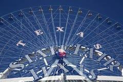 Ferris koło i stanu jarmark TX Fotografia Royalty Free