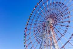 Ferris koło przy palety miasteczkiem Obraz Stock