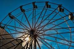 Ferris koło przy parkiem przy zachodnim konem Obraz Royalty Free