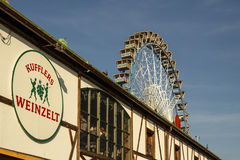 Ferris koło przy Theresienwiese w Monachium, Niemcy, 2016 Obraz Royalty Free