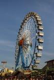 Ferris koło przy Theresienwiese w Monachium, Niemcy, 2016 Obraz Stock