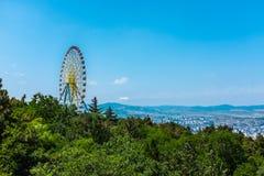 Ferris koło Tbilisi Gruzja Europa Obrazy Royalty Free