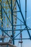 Ferris koło Tbilisi Gruzja Europa Obrazy Stock