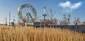 Ferris koło z herbage Fotografia Stock