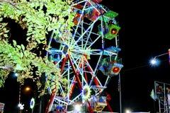 Ferris koła zachwyty zdjęcie royalty free