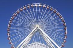 Ferris koło, marynarki wojennej molo, Chicago, Illinois Zdjęcia Stock