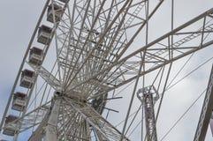 17 ferris l колесо canon 40mm справедливых съемки объектива Стоковое Изображение RF