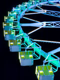 ferris night wheel Στοκ εικόνες με δικαίωμα ελεύθερης χρήσης