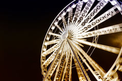 Ferris observation wheel in Poland Gdansk old Town. Ferris observation wheel in Poland Gdansk old Town Stock Images