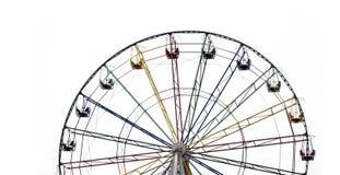 ferris odizolowywający koło Zdjęcie Royalty Free