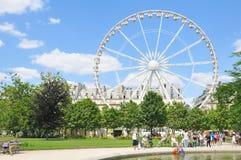 ferris paris wheel Στοκ φωτογραφίες με δικαίωμα ελεύθερης χρήσης