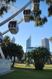 Ferris-Rad in Perth, Australien Lizenzfreie Stockfotografie