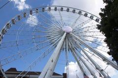 Ferris rijden in Atlanta, GA Stock Afbeelding