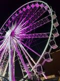 Ferris roda dentro Gdansk imagem de stock royalty free