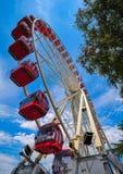 Ferris roda dentro Genebra Geneve de Suíça Imagem de Stock