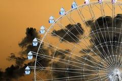 Ferris roda dentro a inversão foto de stock