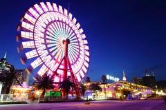 Ferris roda dentro Kobe imagens de stock