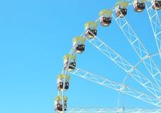 Ferris roda dentro o estilo do vintage Fotos de Stock