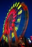 Ferris roda dentro o movimento Fotografia de Stock